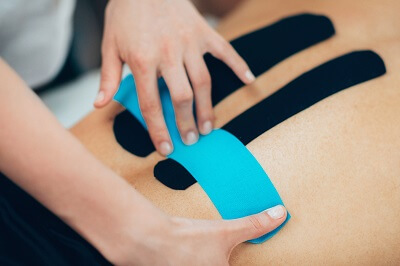 Kinesio-Taping und Cross-Tape